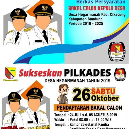 PILKADES HEGARMANAH 2019