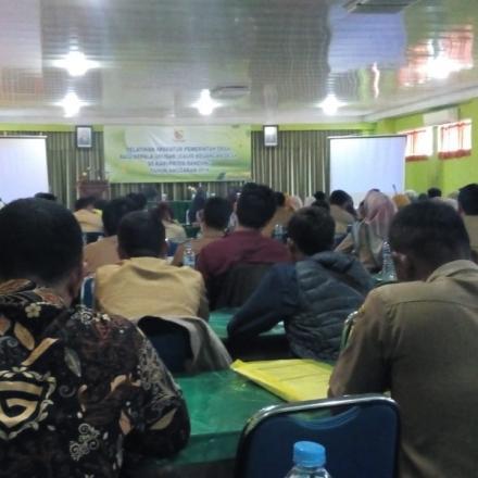 Album : Pelatihan Aparatur Pemerintah Desa Bagi KAUR KEUAN
