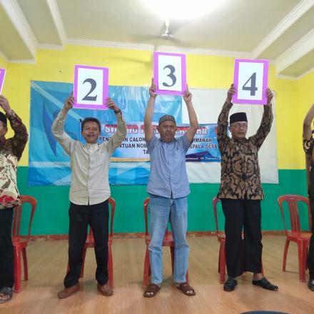 Album : calon kepala desa hegarmanah periode 2019-2025